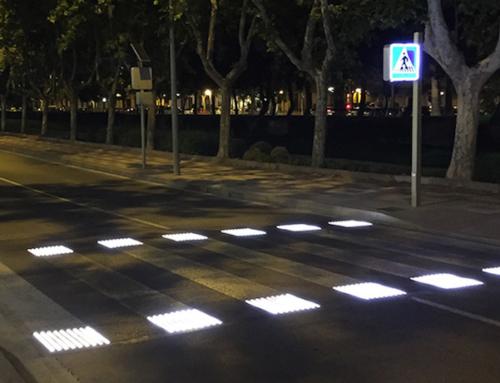 Roma, in arrivo l'attraversamento pedonale a luci led
