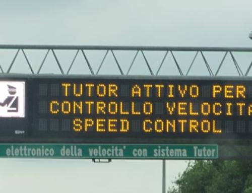 Contraffatto il brevetto del Tutor: guai per Autostrade per l'Italia Spa