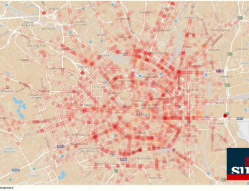 Una mappa interattiva per gli incidenti stradali a Milano