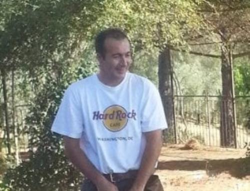 Paolo Superchi vittima di un pirata della strada a Parma