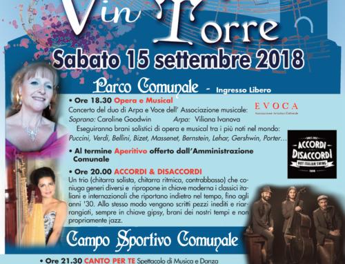 """""""Canto per te"""", a Torrevecchia Pia evento in musica a sfondo benefico"""