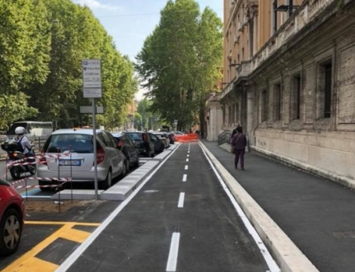 Pista ciclabile terminata sul tratto di Nomentana, Roma città aperta alle bici