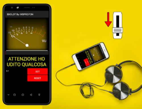 Pedone con le cuffie, un'app consente di scongiurare l'isolamento con l'esterno