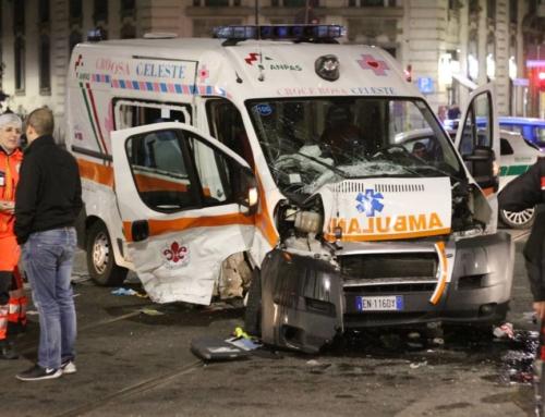 Ambulanza passa con il rosso, in questo caso ha ragione